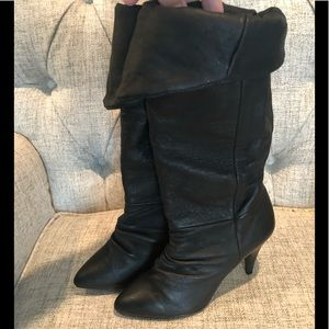 Urban Outfitters Passports Slouch Boots